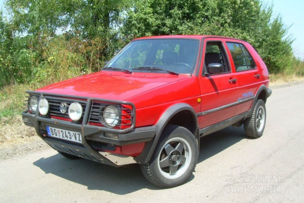 1990 Vw Golf Country 3600 Autoslavia
