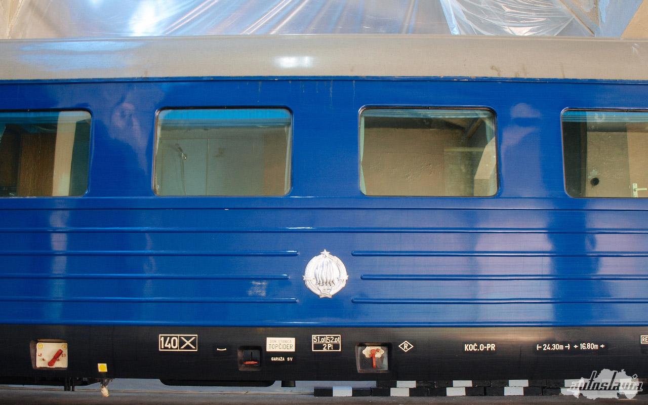 plavi voz josip broz tito jugoslavija yugoslavia sfrj