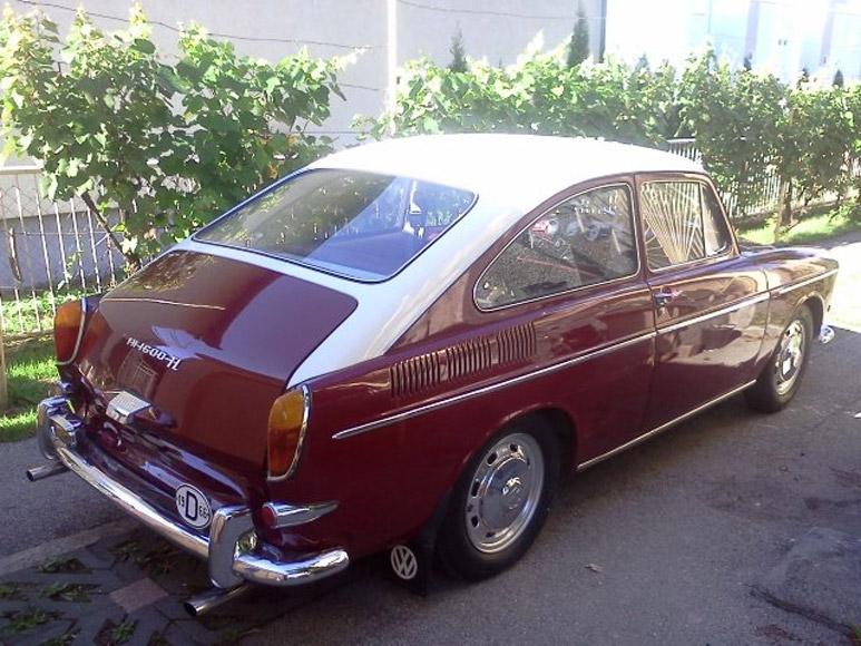 1966 volkswagen 1600 tl autoslavia. Black Bedroom Furniture Sets. Home Design Ideas