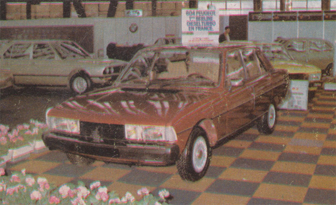 Pežo 604 dizel turbo - I iz Prištine?