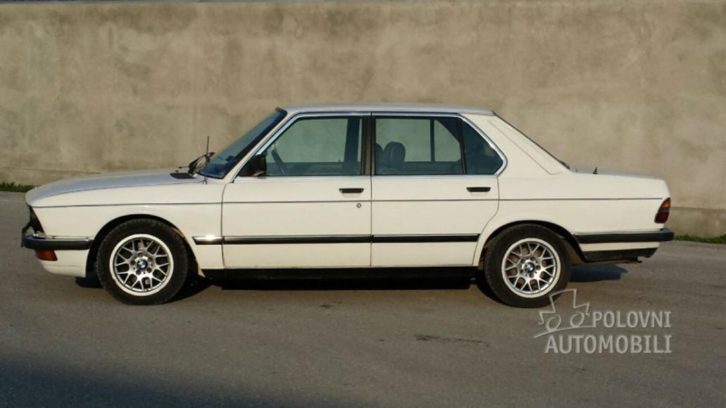 1984 Bmw E28 520 750 Autoslavia