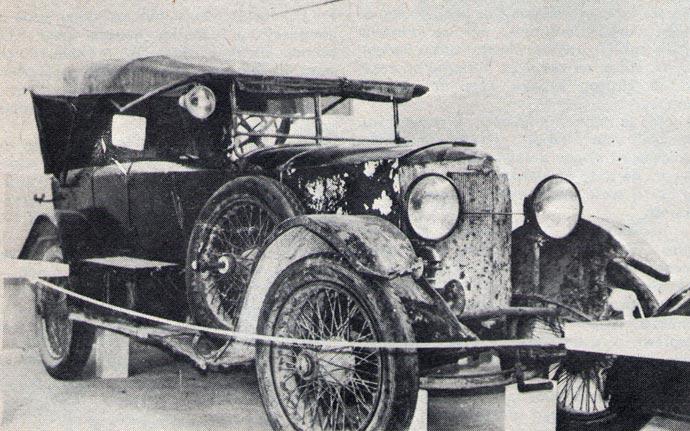 U tehničkom muzeju Slovenije je Dajmler iz 1914 godine kojemu je potrebna pomoć. Muzej nema para da ga obnovi i izložen je samo da bi se među posetiocima našao član radne organizacije koja bi bila spremna da restaurira automobil na svoj trošak ili bar da priloži koji dinar za njegovu obnovu. Polse restauriranja, stari motor Dajmlera, koji ima četiri cilindra i motor koji hladi voda, mogao bi da razvije 36 KS.