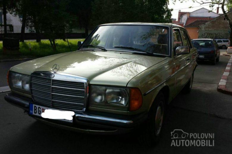 1983 Mercedes Benz E 200 W123 2000 Autoslavia