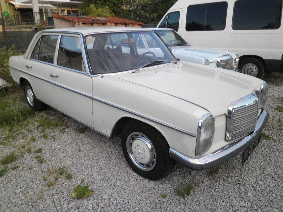 1974 mercedes benz w115 240d autoslavia for Mercedes benz old models