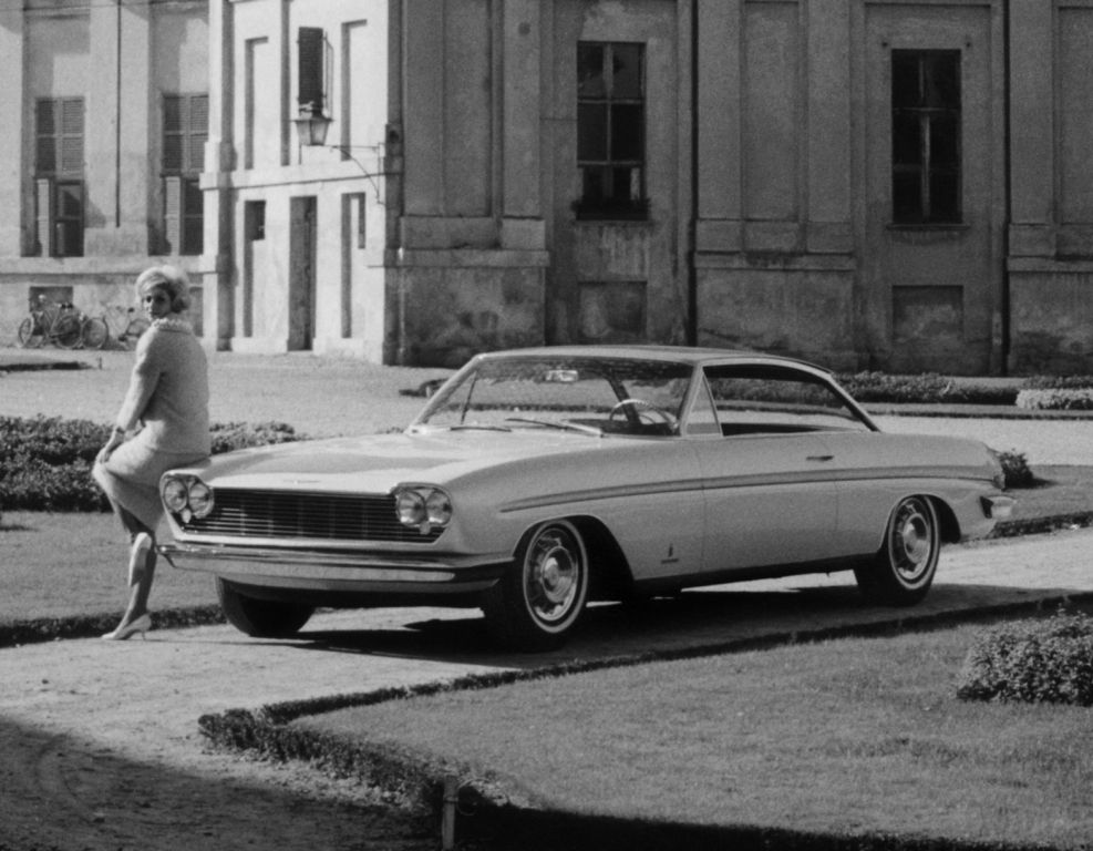 Cadillac Jacqueline, jedna od inspiracija za Peugeot 204. www.autowp.ru