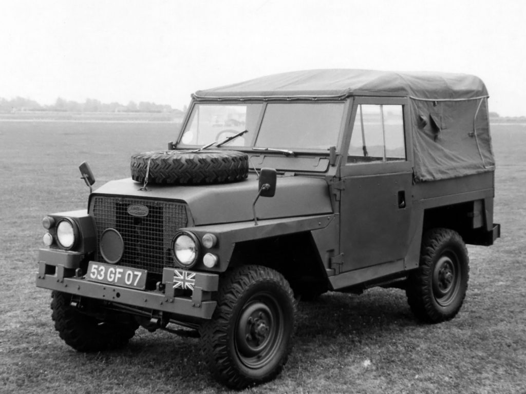 Land Rover Series III Lightweight