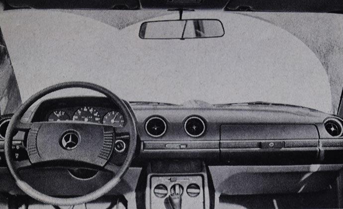 Tabla sa instrumentima je kod svih novih modela ista. Za dobro raspoloženje vozača: efikasni brisači.
