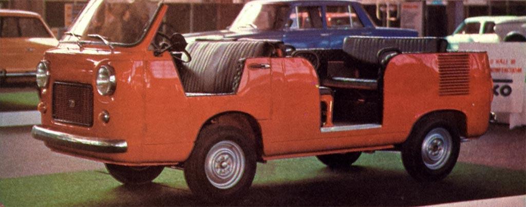 Zastava 430 kabriolet nastala je na taj način što je kombiju odsečen gornji deo karoserije. Motor je isti kao kod 750 S, a razvija 30 KS. U autu ima mesta za 8 putnika, a fabrika obećava najveću brzinu 95 km na čas.