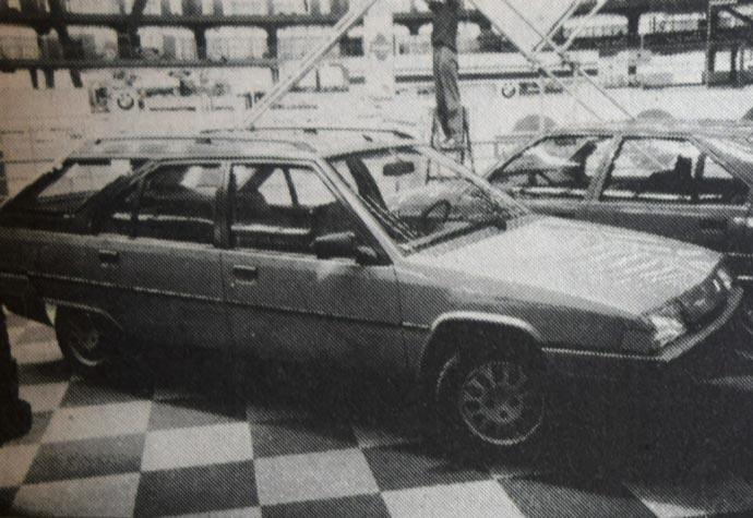 Citroen BX 16 RS Break - Break znači da vozilo ima produženi krov i uz - za BX već uobičajena - zadnja vrata izrazitija kombi svojstva. Inače je ova varijanta Citroena srednje veličine već juna meseca prošle godine stigla na svet.