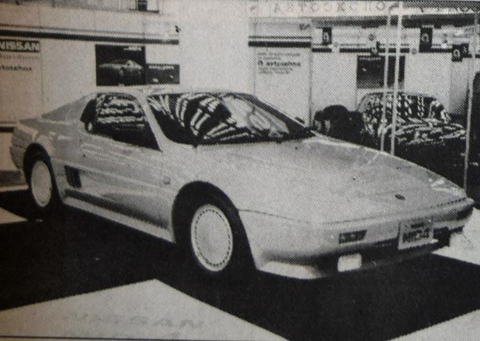 Nissan MID 4: Videli smo ga već prošle godine u Frankfurtu. To je sportski prototip sa motorom u sredini (3 litra, V6, 24 ventila, 230 KS) i sa pogonom na sva četiri točka. Većina drugih podataka još nije poznata.