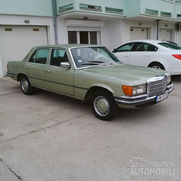 1975 Mercedes Benz W116 280s Dogovor Autoslavia