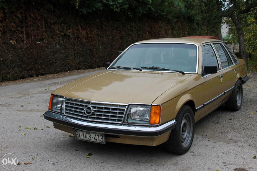 1980 Opel Senator 3 0s 3 100 Autoslavia