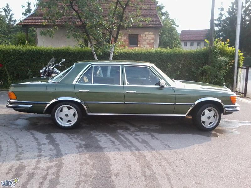 1979 mercedes benz w116 280se autoslavia for Mercedes benz biography