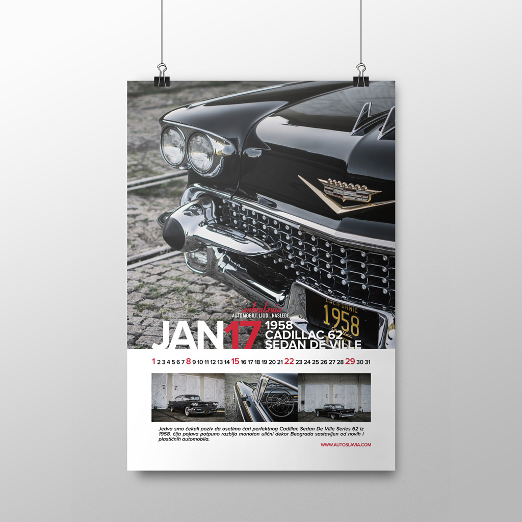 Januar - Cadillac Series 62 Sedan de Ville