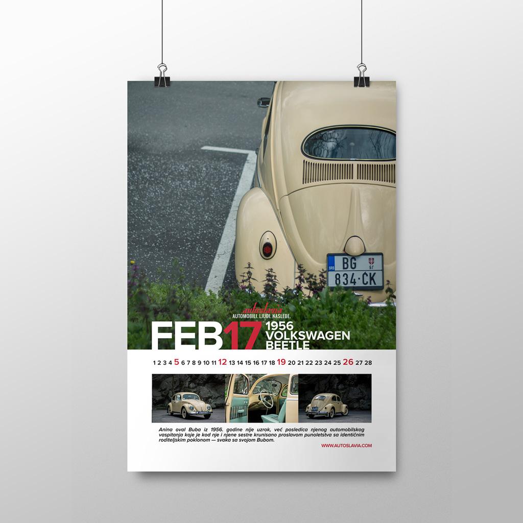 Februar - Volkswagen Beetle Oval