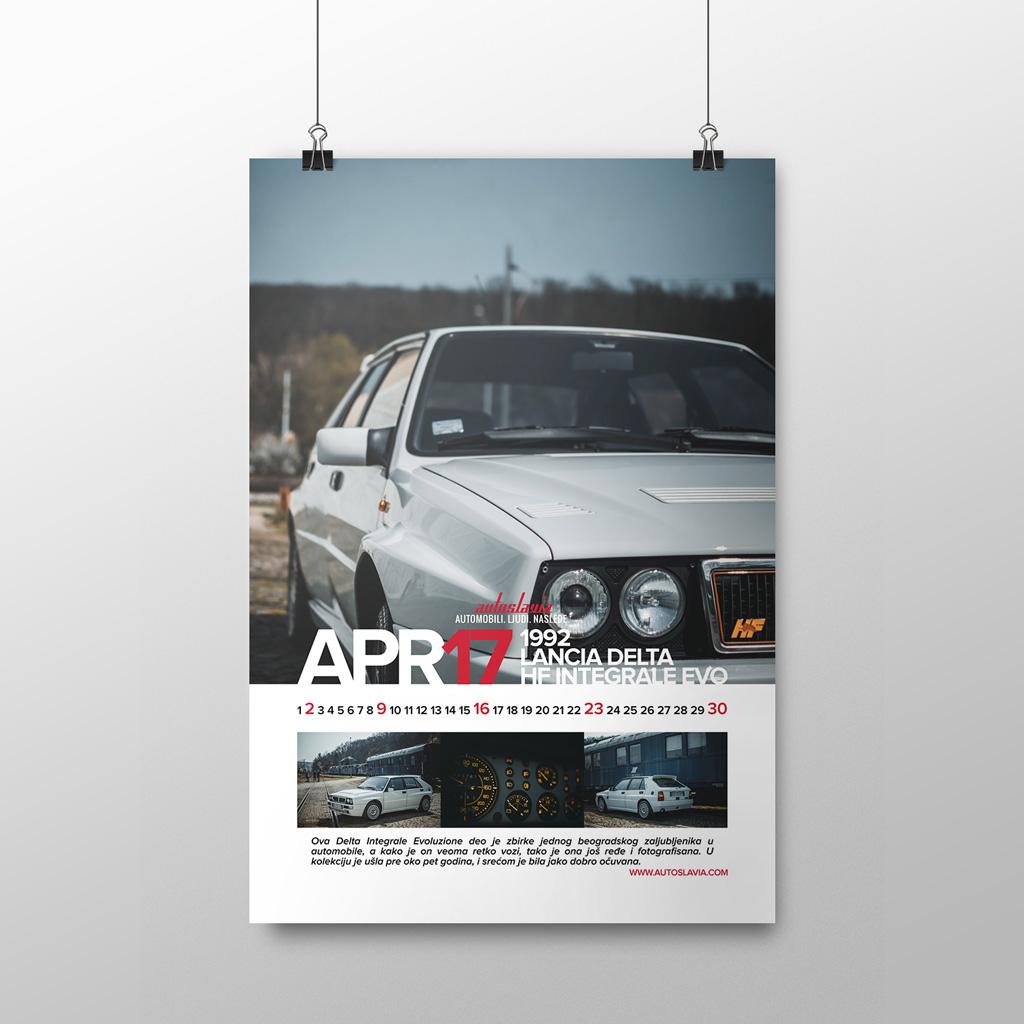 April - Lancia Delta HF Integrale Evoluzione