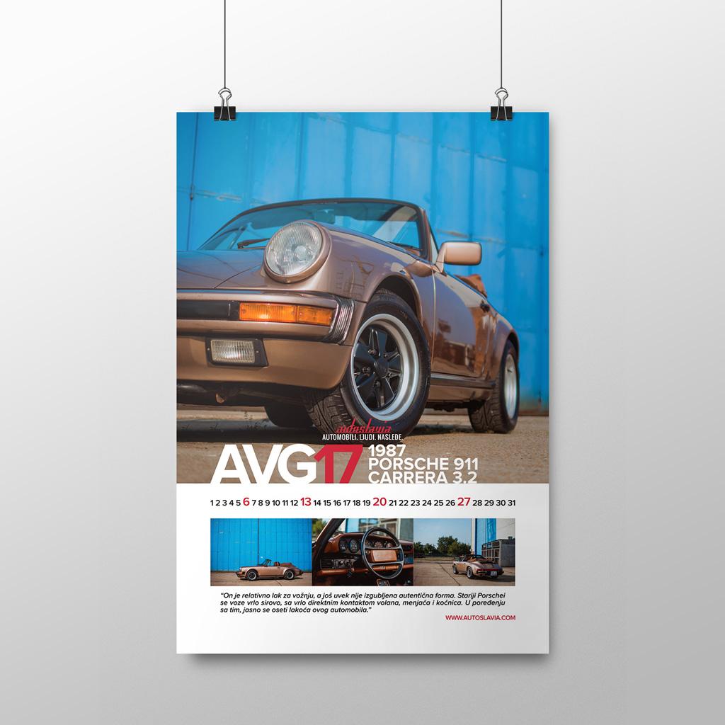 Avgust - Porsche 911 Carrera 3.2