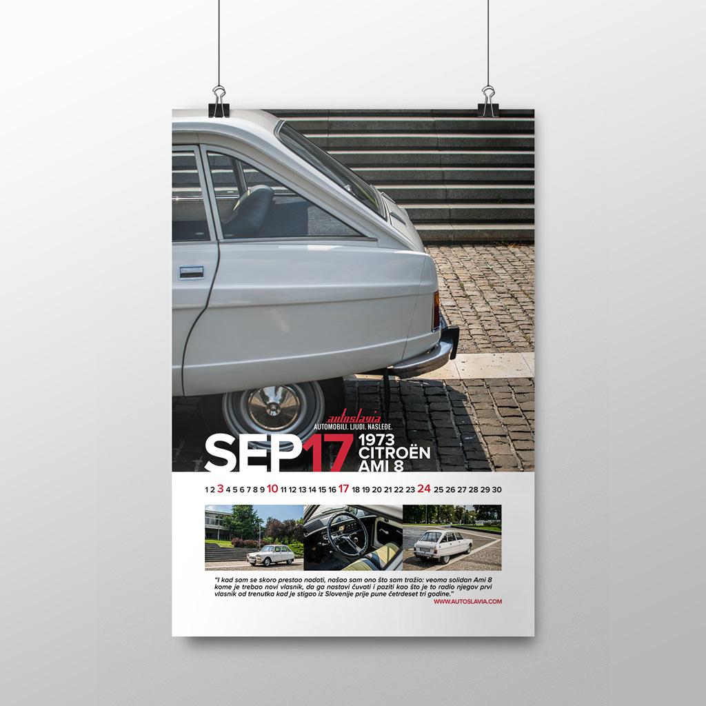 Septembar - Citroën Ami 8