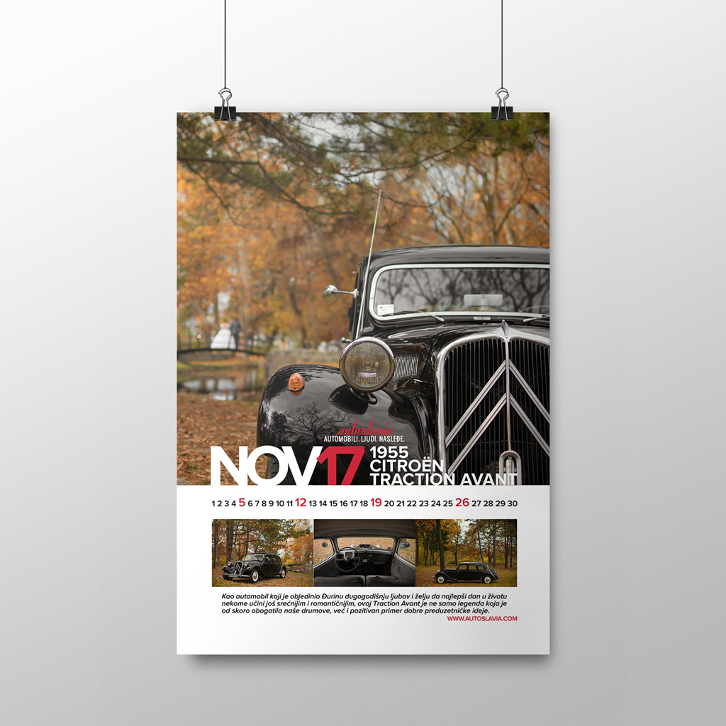 Novembar - Citroën Traction Avant