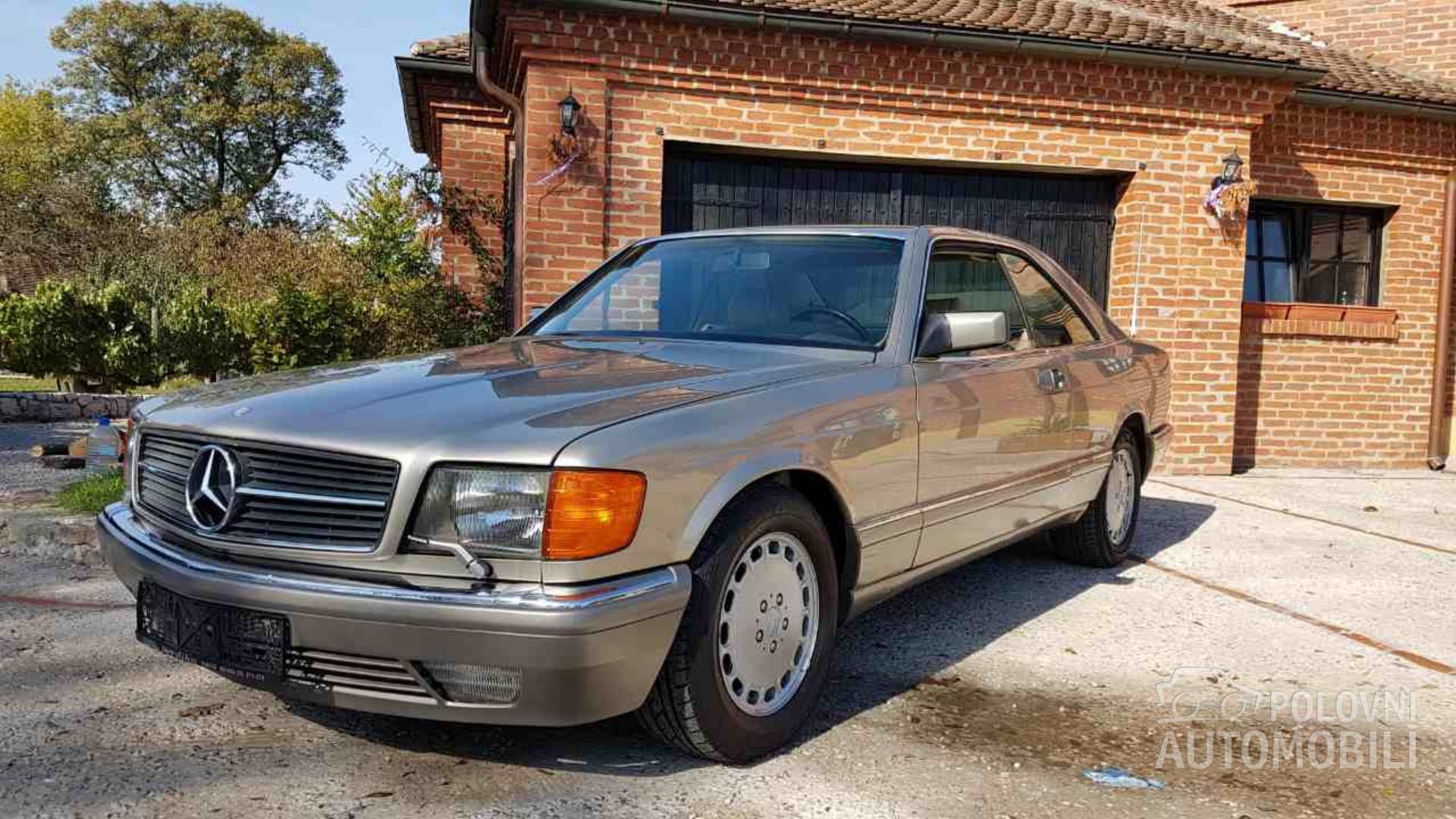 1986 Mercedes Benz 500 Sec C126 10800 Autoslavia
