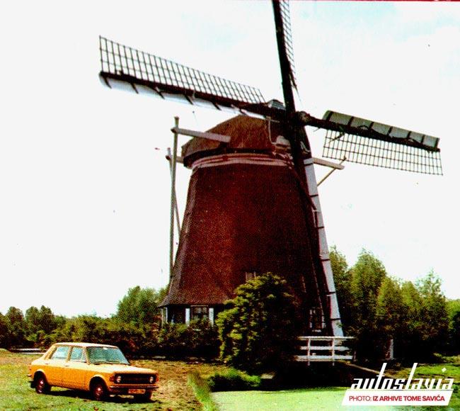 Zastava 101 u Holandiji