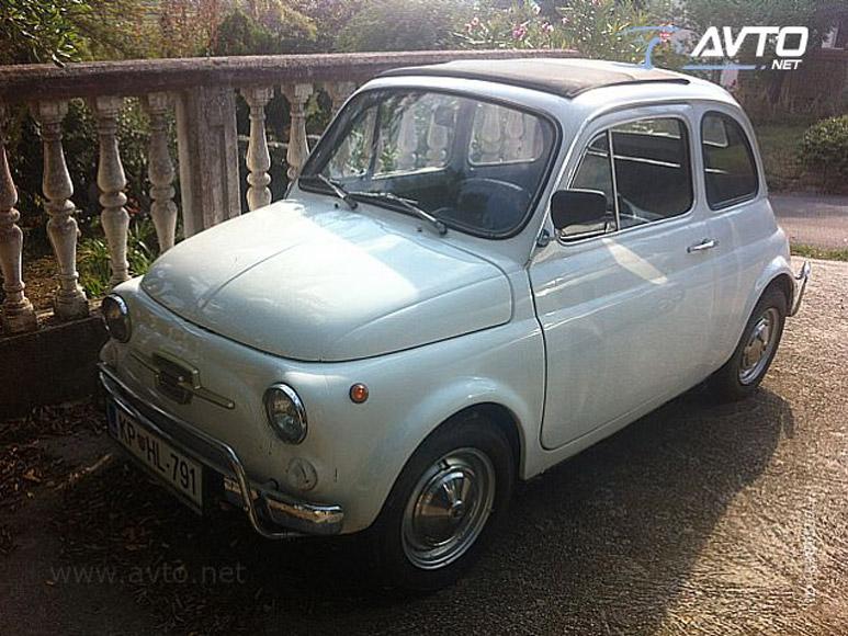 1970 Fiat 500 4000 Autoslavia