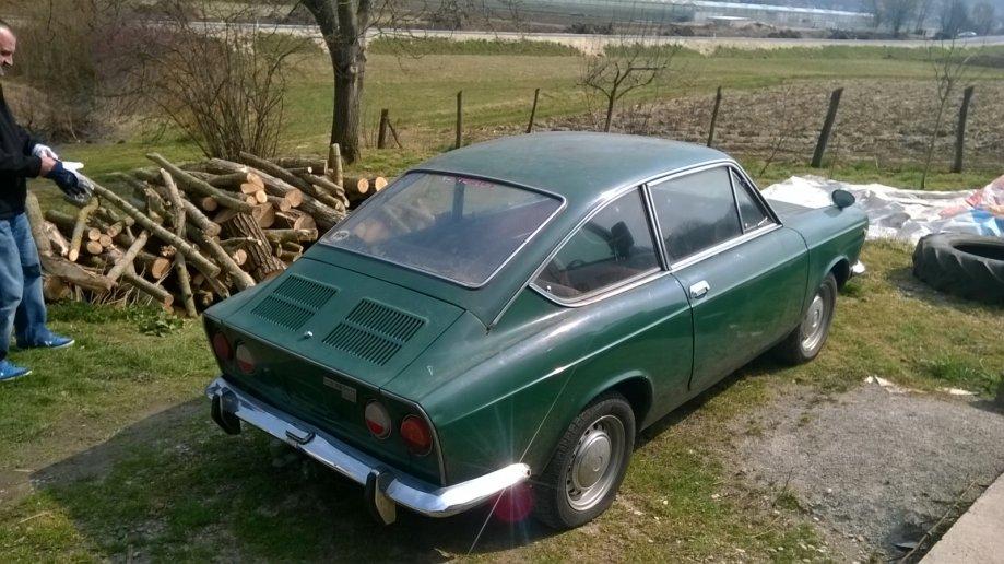 1969 fiat 850 sport coup autoslavia - Fiat 850 coupe sport a vendre ...