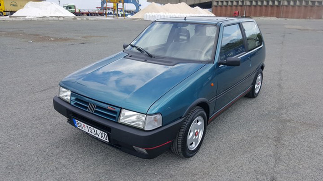 1990 fiat uno turbo i e mk2 autoslavia. Black Bedroom Furniture Sets. Home Design Ideas