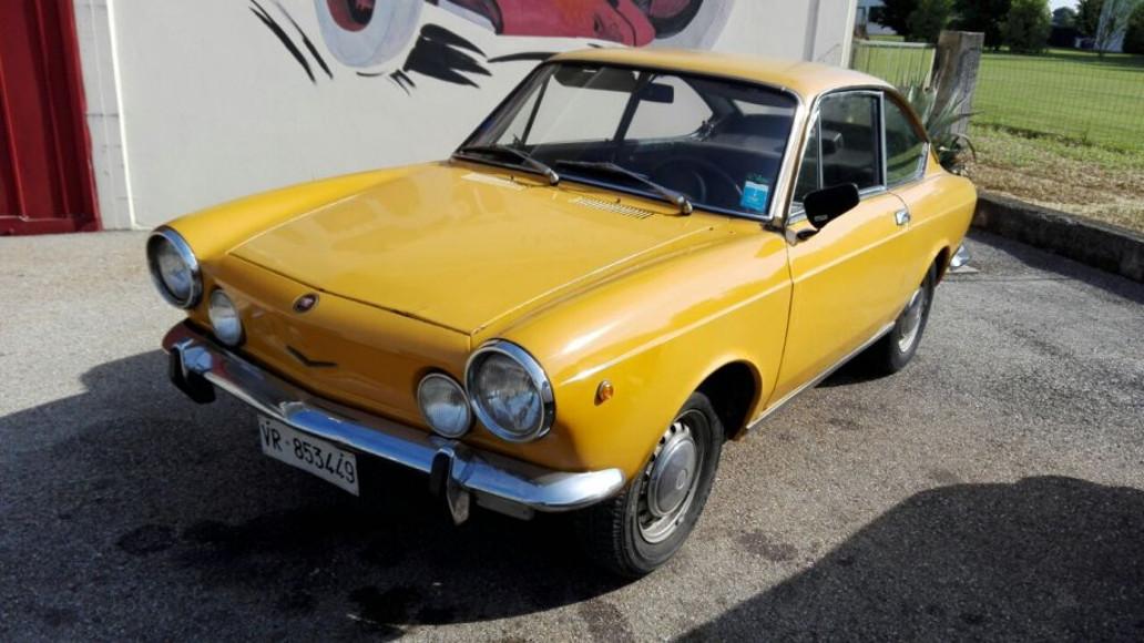 1970 fiat 850 sport coup autoslavia - Fiat 850 coupe sport a vendre ...