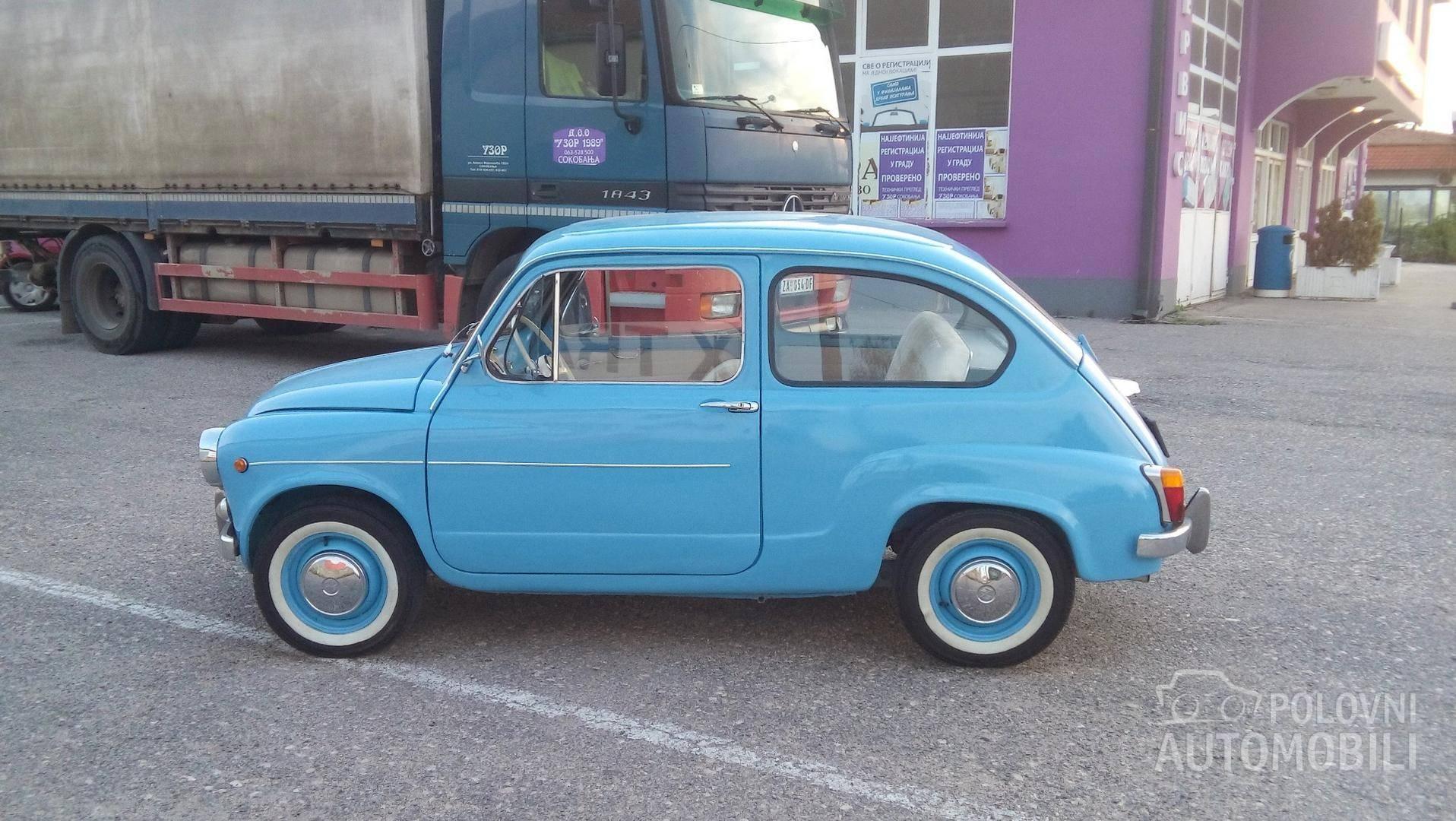 1982 Zastava 750 3800 Autoslavia